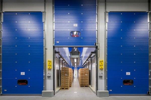 Nijssen realized 45 double ripening rooms for Lidl Netherlands